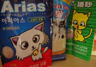 Cat litter issues