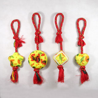 Sell Rope toys with tennis ball