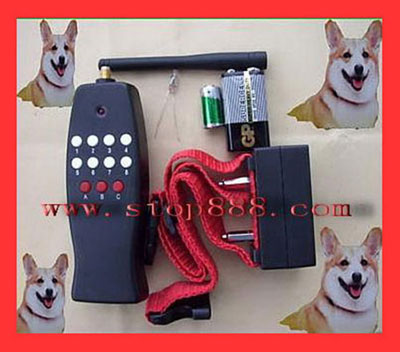 Remote Electric Shock Dog Training Collar Anti Bark 8LV