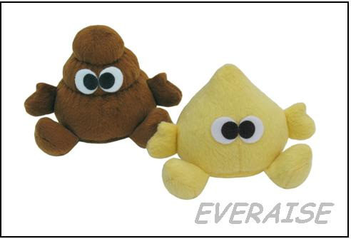 Sell PLUSH PEE  AND POO TOYS