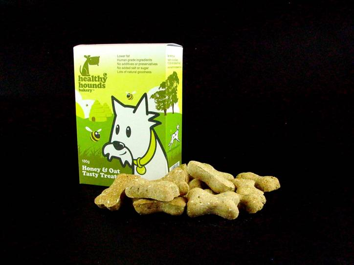 Sell Healthy Hounds Bakery Honey and Oat Dog Treats