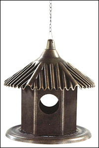 hanging bird house closed box