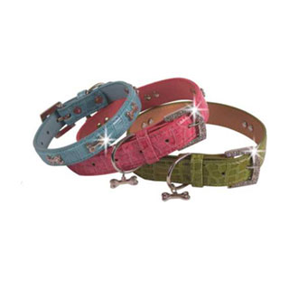 Pet Collars, Available in Three Different Colors