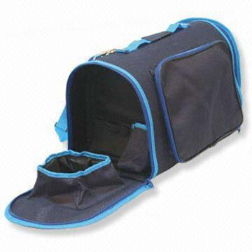 Pet Carrier Bag with Water Bowl