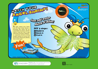 Aquarium science kit-Hatch Your Angel Shrimp