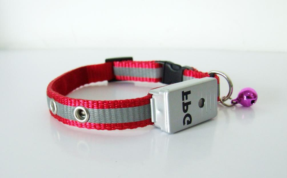 Flashing reflective Cat Collar with Senser