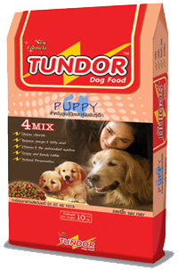 Tundor dog food
