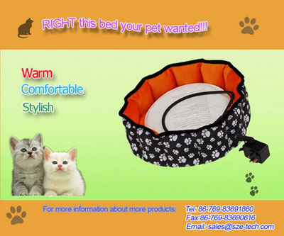 pet heated bed
