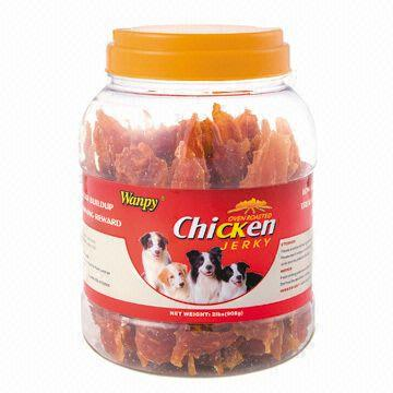 Dry Chicken Jerky Bar, 100% Natural without Contamination, Ideal for Pregnant Dogs