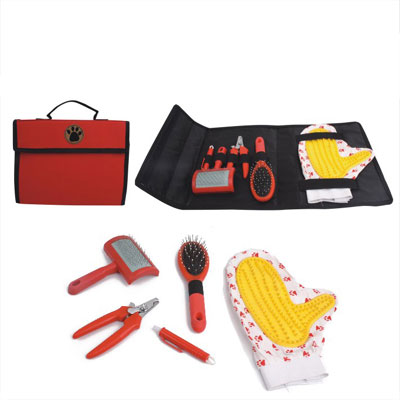 Pet Grooming Set With Carrier Bag£¨YB71993-B)