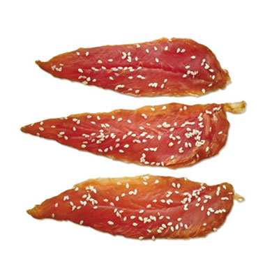 Dry Chicken Jerky With Sesame