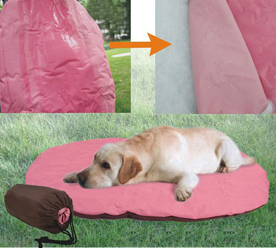 Pet Cushion With Carrier Bag(YF71201)