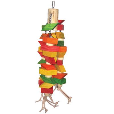 wooden bird toy