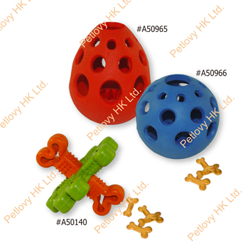 Food Rubber dog toy