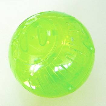 plastic exercise ball
