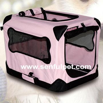 Folding Dog Soft Cage