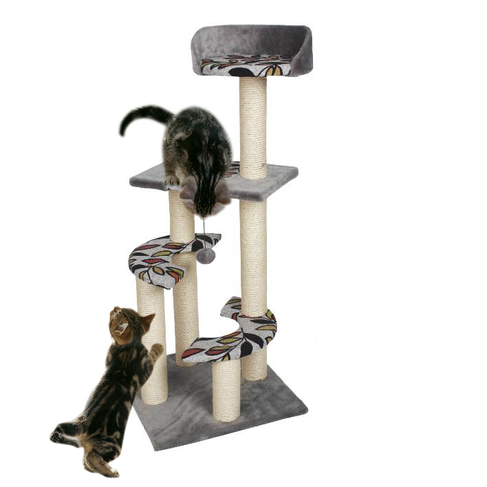 pet products/Cat Scratcher tree w/leaves decoration(YS72172)