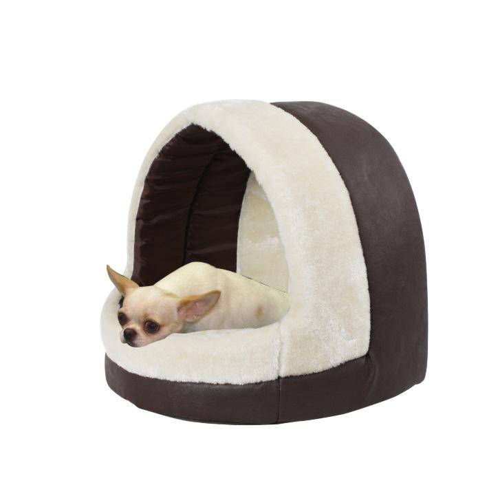 pet products/Luxury soft PU fabric pet beds(YF72064)