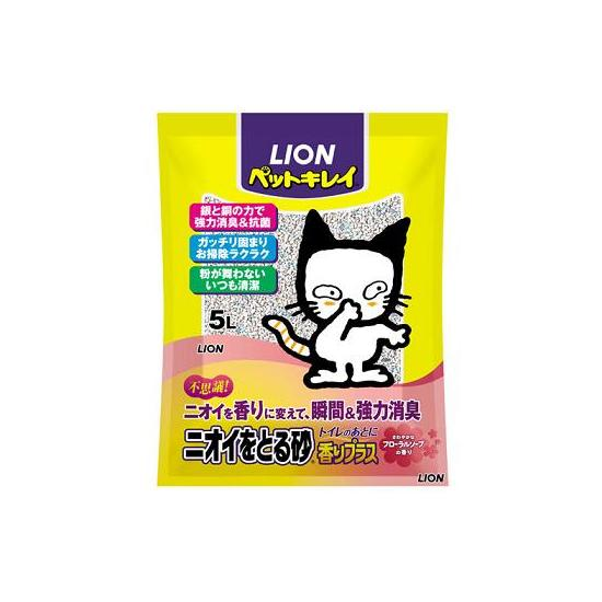 Cat litter «Refreshing sand Aroma Plus Floral? 5 L