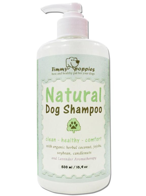 All Natural Home Made Dog Shampoo