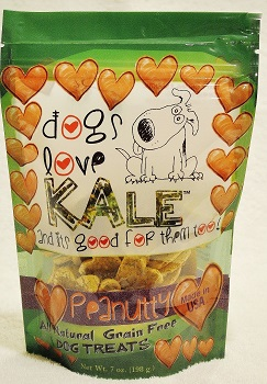 Dogs Love Kale/Peanutty AVAILABLE IN 5 FLAVORS