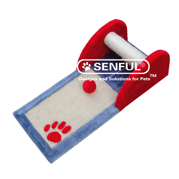 Plush Cat Scratcher