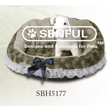 Stylish Dog Bed Oval Pet Bed
