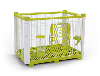 Lohas House - Open top trendy pet cage