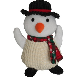 Christmas Snowman Dog Toy