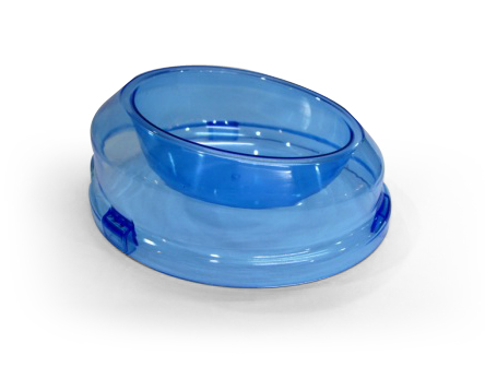 864-A Semi-Transparent Oval PET BOWL