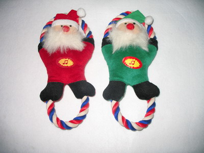 christmas dog toys with squeakers