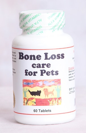 BONE LOSS CARE FOR PETS