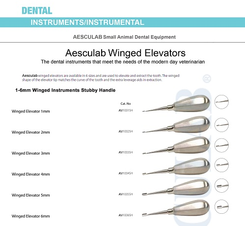 Winged Elevators for Small Animals = Aesculab Instruments Co