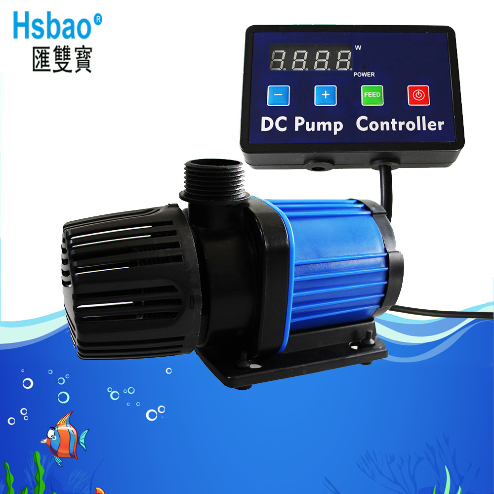 Aquarium Marine DC 24V Water Circulation Pump 4000L/H