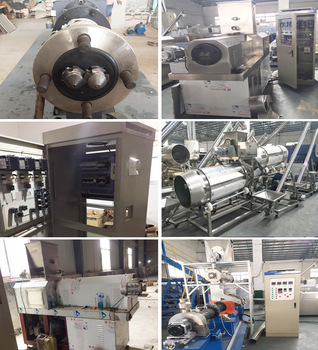 Dry Process & Wet Process Fish Food Production Line, Pet Food extruder