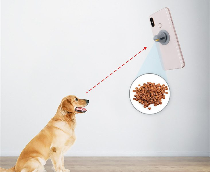 Pet Photo tool/Snack feeder/ phone stand