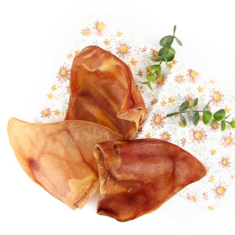 Private label OEM for Natural dehydrated pig chunk ear MADE IN KOREA