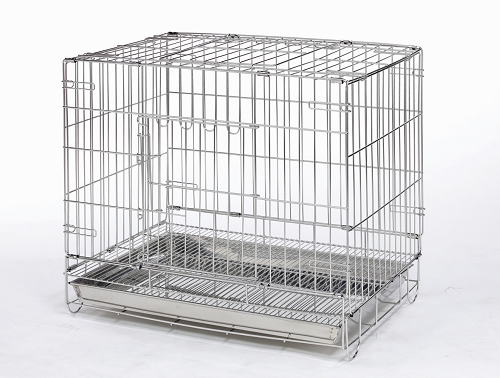 dog stainless stell wire cage
