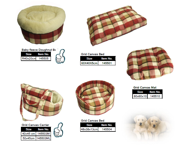Waterproof and cozy Pillow Dog Beds