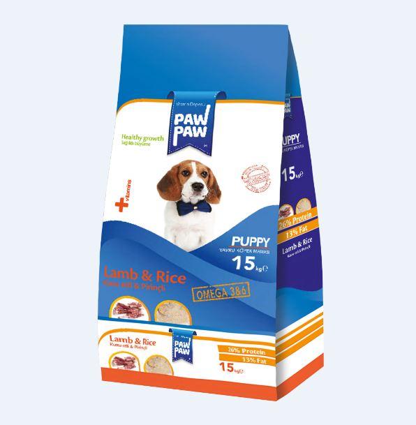 Paw Paw Puppy Lamb&Rice