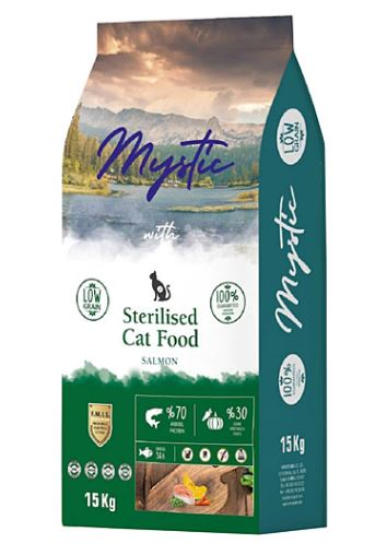 Mystic Adult Cat Food Sterilised Salmon