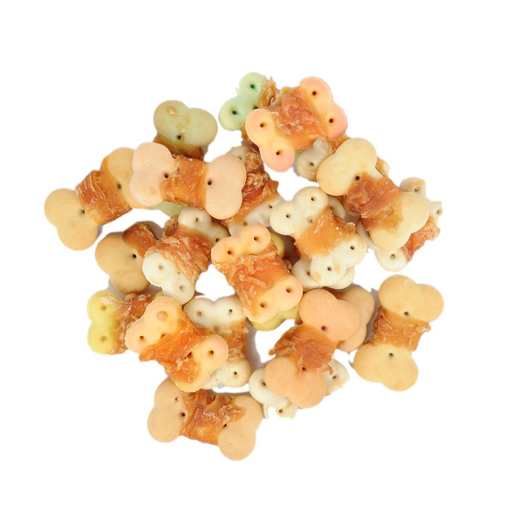 Organic Bulk Rabbit wrap biscult  pet treats dog snacks