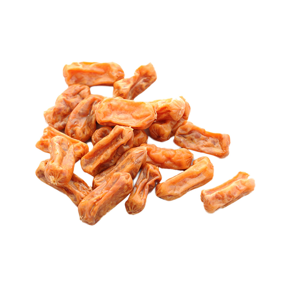OEM Chicken Dried Sausager dog treats healthy snacks for dog