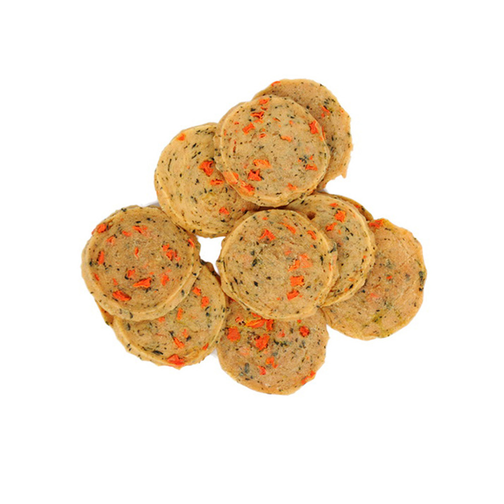 Petideal OEM Veggie chips Chinese supplier healthy pet food snack for dog