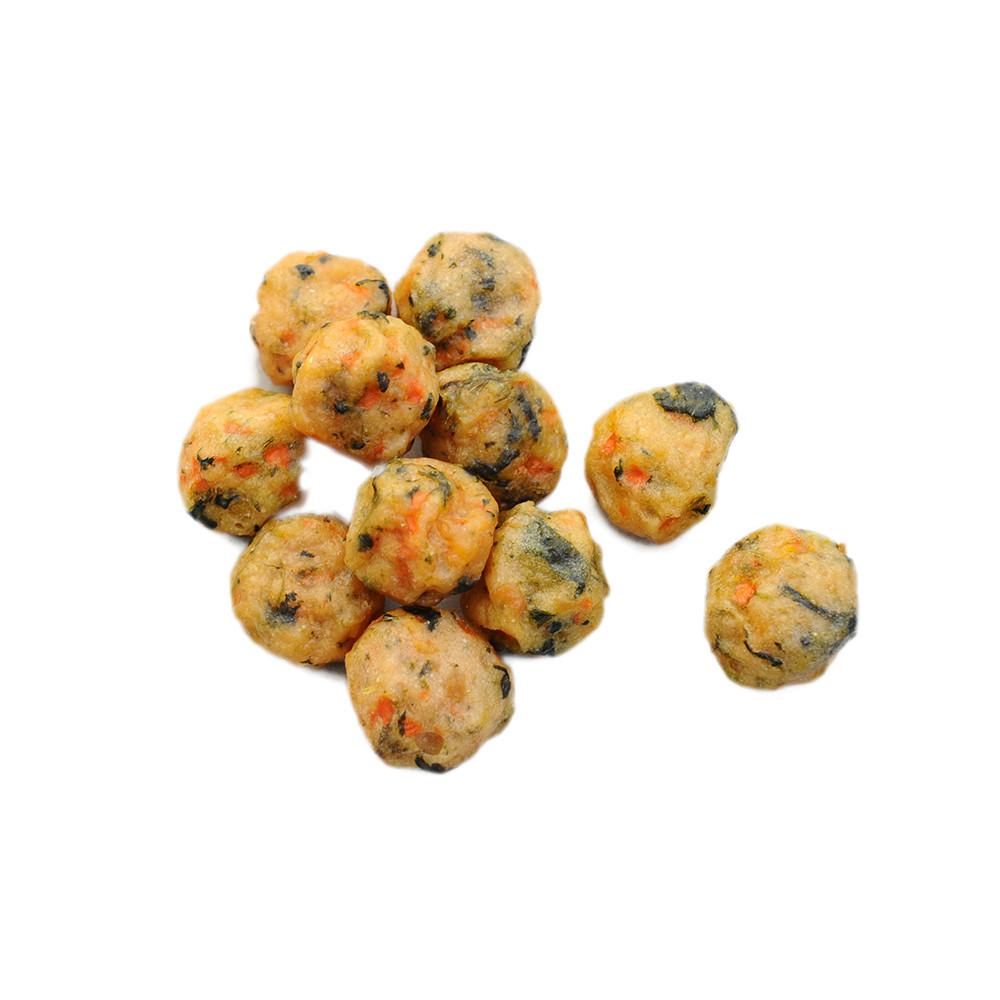Petideal OEM Chicken&Veggie poppers healthy pet treats snacks for dog