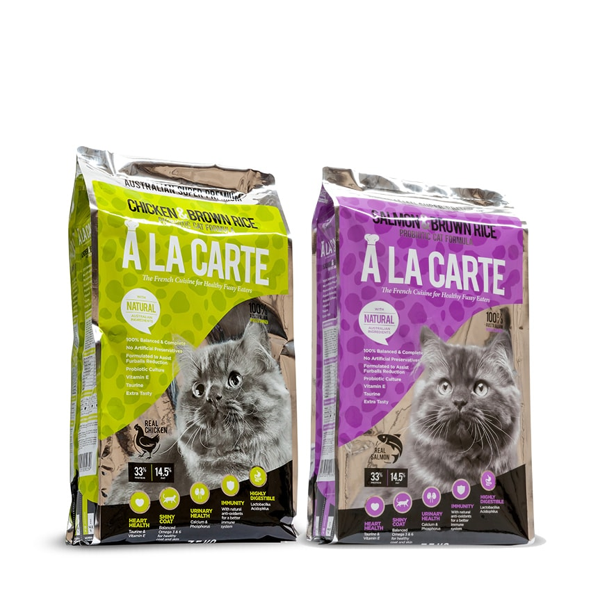 A La Carte Cat Food - Premium Complete Cat Food