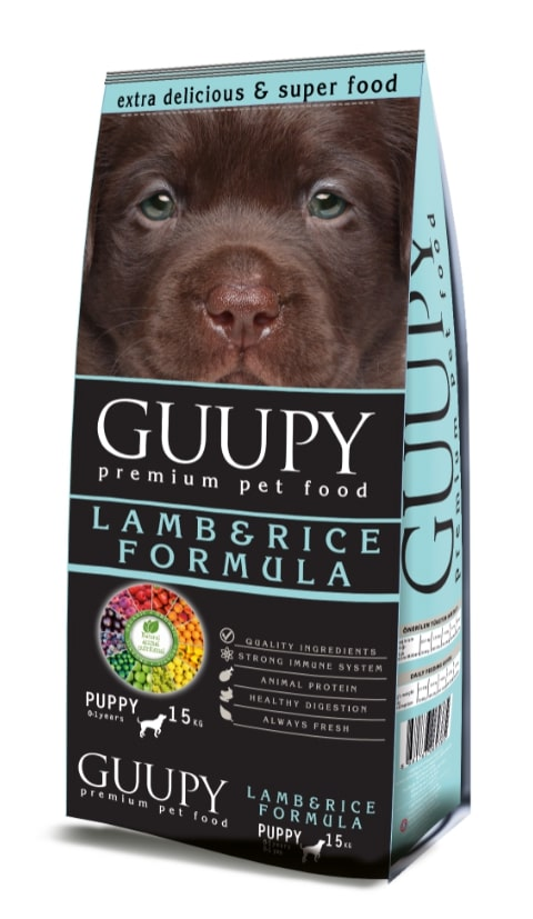 GUUPY PUPPY LAMB AND RICE 15KG