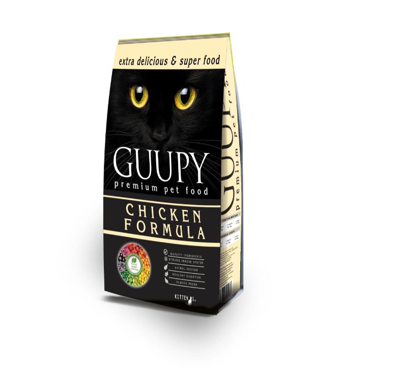 GUUPY KITTEN CHICKEN 1 KG
