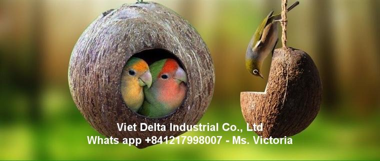 Coco nest for birds from Vietnam