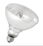 UVB Mercury Vapor Lamp PAR38 UV clear